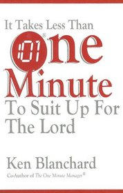 It Takes Less Than One Minute to Suit Up for the Lord
