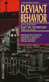 Deviant Behavior (Thomas Black, Bk 5)