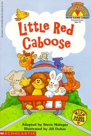 The Little Red Caboose (My First Hello Reader)