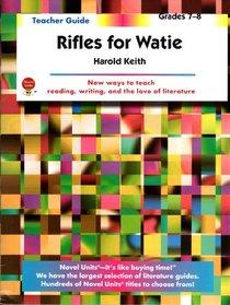 Rifles for Watie: Grades 7-8