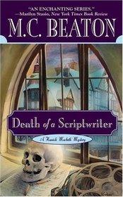 Death of a Scriptwriter (Hamish Macbeth, Bk 14)