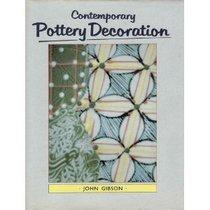 Contemporary Pottery Decoration