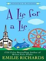 A Lie for a Lie (Ministry is Murder, Bk 4) (Large Print)
