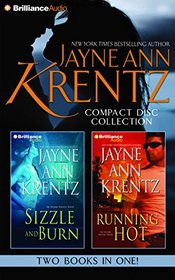 Jayne Ann Krentz CD Collection 4: Sizzle and Burn, Running Hot (Arcane Society Series)