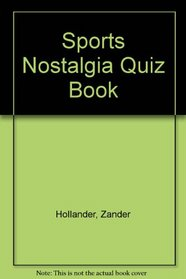 Sports Nostalgia Quiz Book