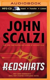 Redshirts: A Novel with Three Codas (MP3 Audio)