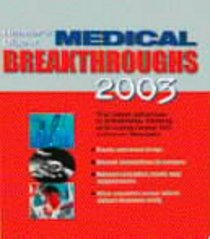 Medical Breakthroughs 2003 (Reader Digest)