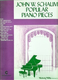 Popular Piano Pieces C-The Purple Book Schaum