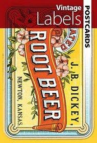 Vintage Labels (Dover Postcards)