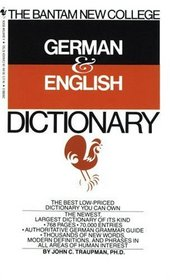 Bantam New College German/English Dictionary (Bantam New College Dictionary Series)