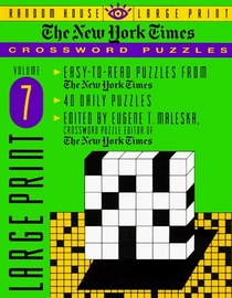 New York Times Large Print Crossword Puzzles V 7 (NY Times)