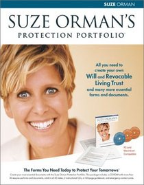 Suze Orman's Protection Portfolio: Will  Trust Kit. The Forms You Need Today to Protect Your Tomorrows