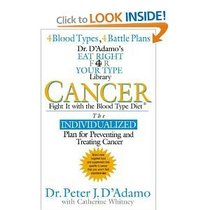 Cancer: Fight It with the Blood Type (Dr. Peter J. D'Adamo's Eat Right 4 Your Type Health Library)