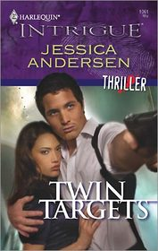 Twin Targets (Thriller) (Harlequin Intrigue, No 1061)