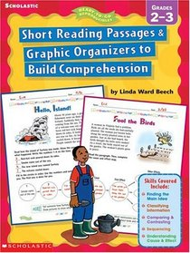Short Reading Passages & Graphic Organizers to Build Comprehension Grades 2 - 3