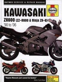 Kawasaki ZX600 (ZZ-R600 & Ninja ZX-6) '90 to '06 (Haynes Manuals)