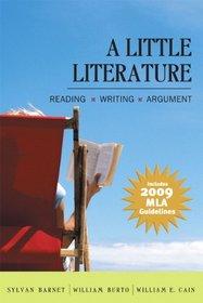 A Little Literature: 2009 MLA Update