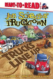 Trucks Line Up (Jon Scieszka's Trucktown (Hardcover))