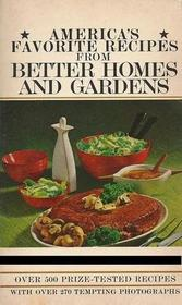 America's Favorite Recipes from Better Homes and Gardens