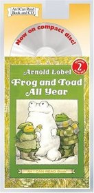 Frog and Toad All Year (I Can Read Book 2) (Book with CD)