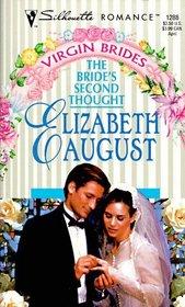 Bride's Second Thought (Virgin Brides) (Silhouette Romance, No 1288)