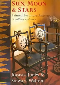 Sun Moon and Stars: Painted Furniture Patterns to Pull Out and Trace