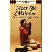 Meet the Malones (A Berkley Highland book)