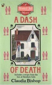 A Dash of Death (Hemlock Falls, Bk 2)