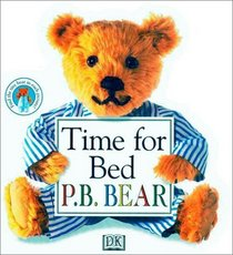 P.B. Bear Shaped Board Book: Time For Bed