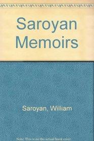 Saroyan Memoirs