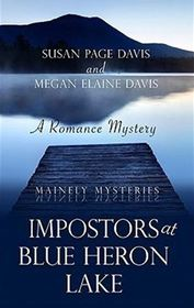 Imposters at Blue Heron Lake (Mainely Murder Mysteries #3) (Heartsong Presents Mysteries)