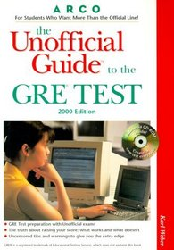 Arco the Unofficial Guide to the Gre 2000 (Unofficial Guides)