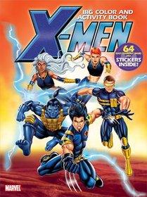 X-Men Big Color & Activity Book: With Stickers (Big Color & Activity Book)