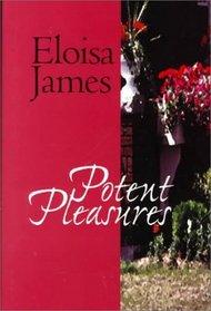 Potent Pleasures (G K Hall Large Print Book Series)