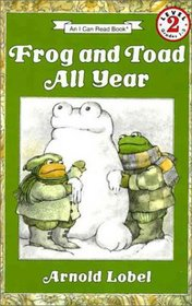 Frog and Toad All Year Book and Tape (I Can Read Book 2)