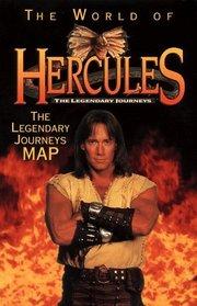 The World of Hercules: The Legendary Journeys Map (Hercules: The Legendary Journeys)
