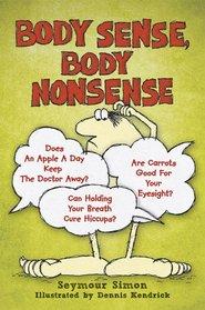 Body Sense, Body Nonsense (Dover Children's Science Books)