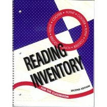 Flynt-Cooter reading inventory for the classroom