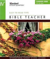 NIV Bible Teacher: Standard Lesson Quarterly
