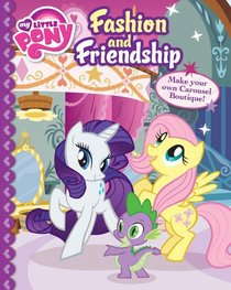 My Little Pony Fashion and Friendship Storybook and Press Outs
