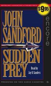 Sudden Prey (Lucas Davenport, Bk 8) (Audio Cassette) (Abridged)