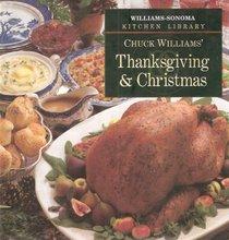 Thanksgiving & Christmas (Williams-Sonoma Kitchen Library)
