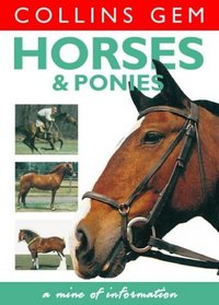 Horses and Ponies (Collins Gem S.)