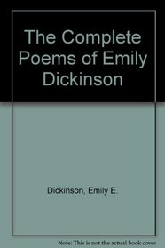 Emily Dickinson Poems: First and Second Series