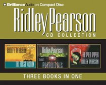 Ridley Pearson CD Collection: The Pied Piper, The First Victim, Parallel Lies