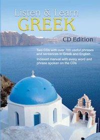 Listen & Learn Modern Greek (CD Edition)
