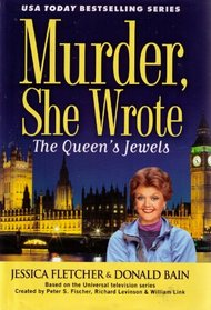 The Queen's Jewels (Murder, She Wrote, Bk 34) (Large Print)