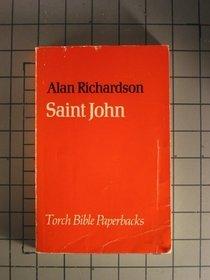 Gospel According to St.John (Torch Bible Paperbacks)