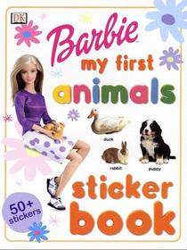 Barbie: My First Animals Sticker Book