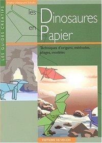 Les dinosaures en origami
